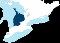 Security Service Area Map